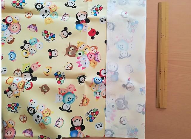 幼稚園用カトラリーケースの作り方 裁断
