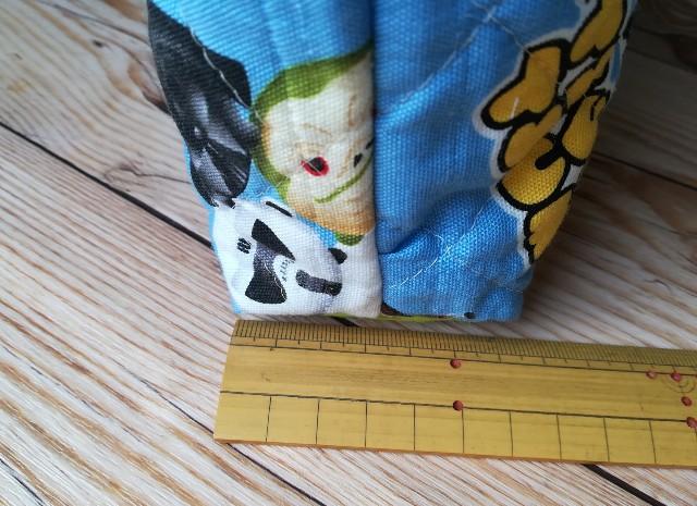 絵本袋の作り方 マチを確保