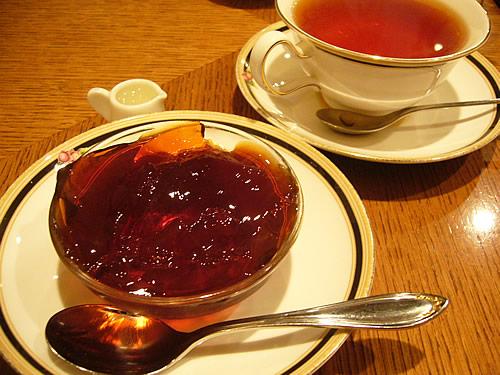 紅茶のゼリー
