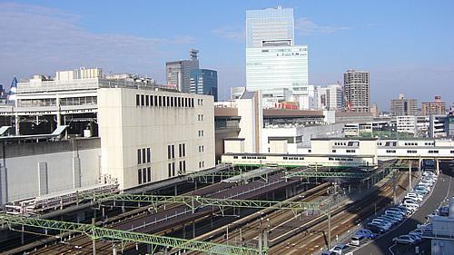 仙台駅裏側