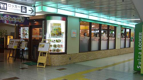 仙台駅3階にあるパスタ屋 トライアングル