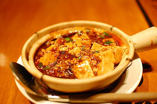 マーボ豆腐かけ土鍋ごはん