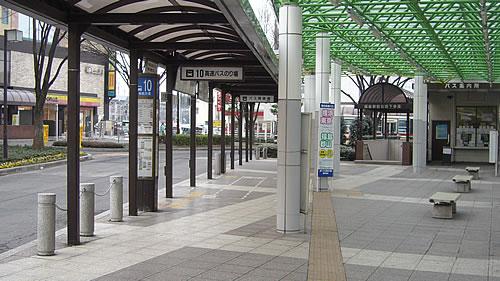 福島駅東口高速バス乗り場