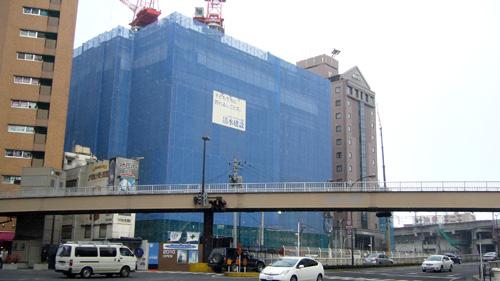 大塚家具建築中