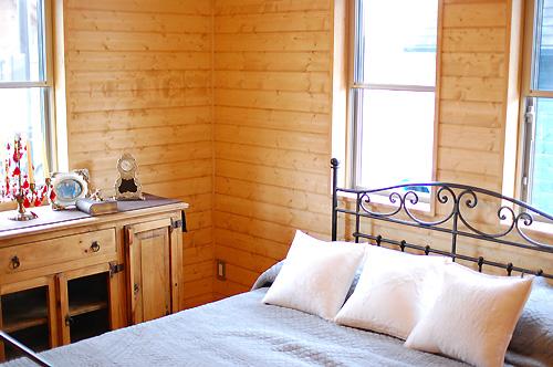 よく眠れそうな寝室