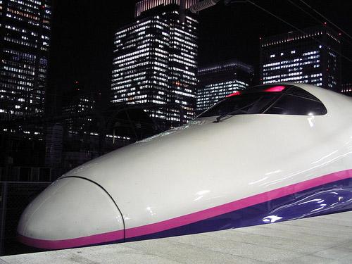 東京から仙台へ新幹線で