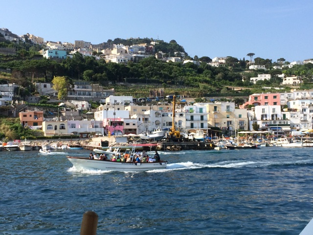 イタリア旅行ジョジョ聖地カプリ島