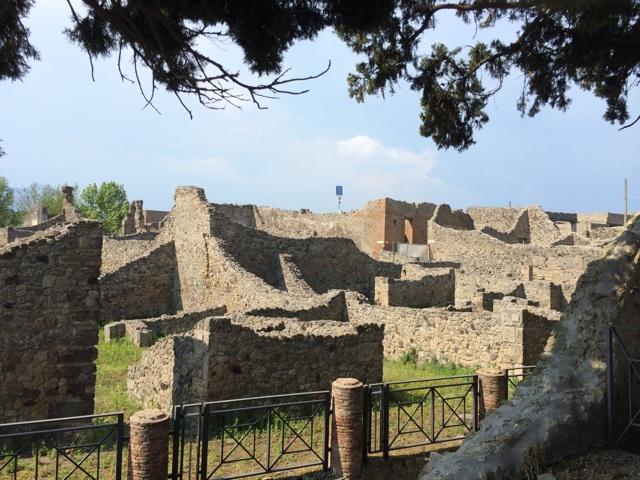 ジョジョの奇妙な冒険5部の聖地巡礼の旅で訪れたポンペイ遺跡