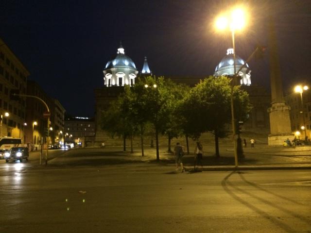 イタリア旅行でローマの夜にお酒を飲んだエピソード