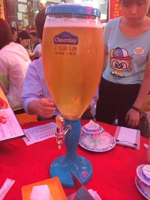 中国のセルフビールサーバー