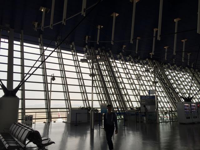 上海浦東国際空港の搭乗ロビー