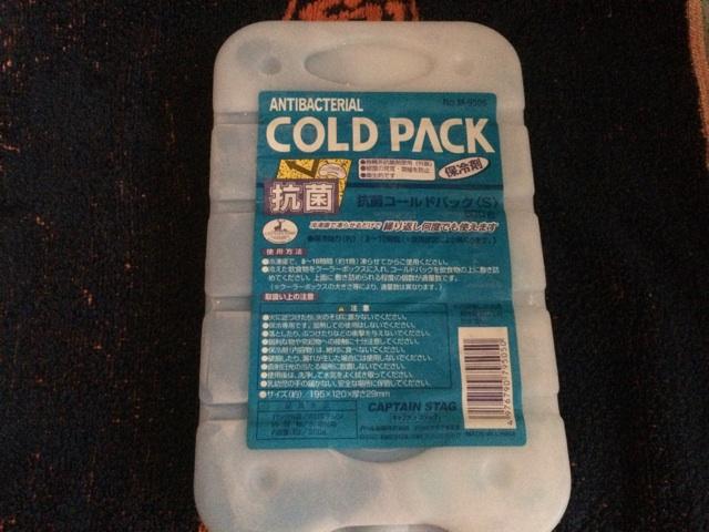海水水槽を冷やす保冷剤