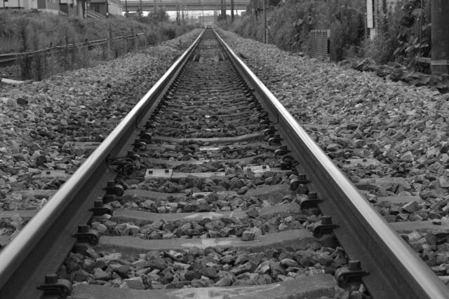 JRの線路で分断