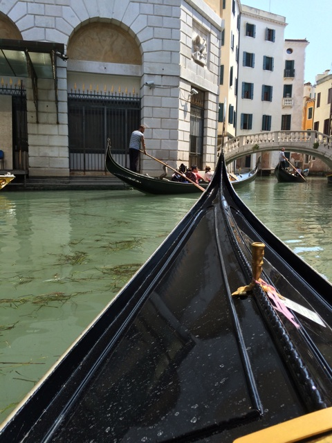 イタリア旅行記ヴェネツィアでゴンドラ観光