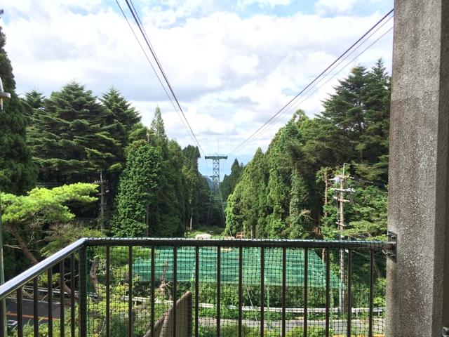 六甲山頂駅からの眺望は絶景