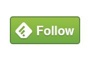 feedlyのボタン画像。feedlyは最も利用者の多いRSSサービスだと言われています。