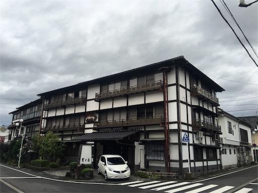 岩井温泉の旅館岩井屋の建物外観写真
