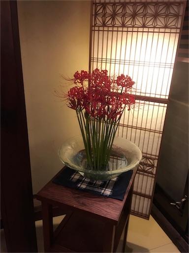 岩井屋の生け花