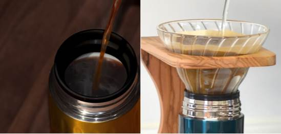 カフアコーヒーボトル大口径