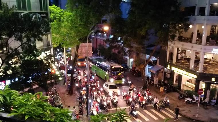 夜のベトナム