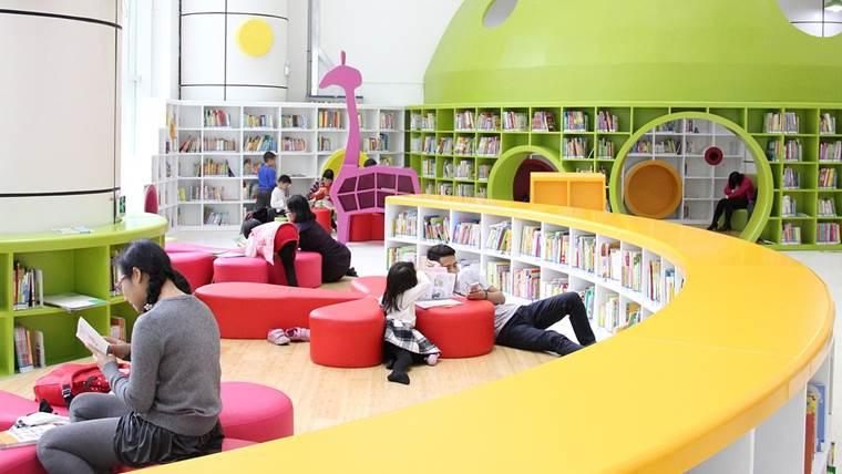図書館キッズスペース
