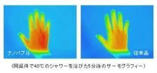ナノバブル保温性