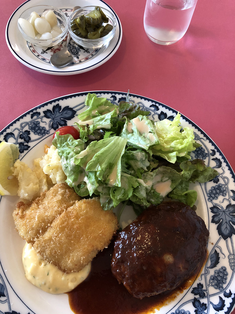 グリル生研会館の料理