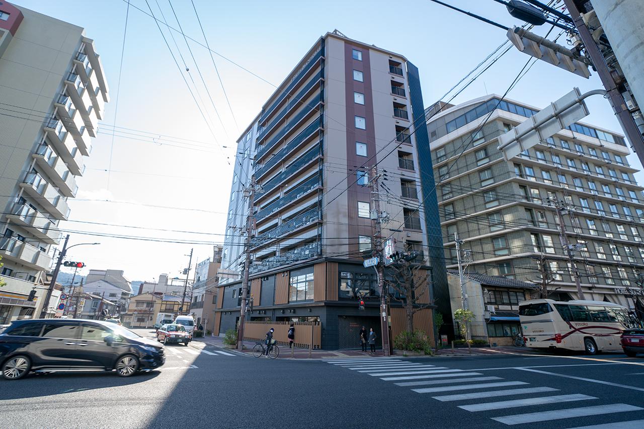 ホテルサンルート京都木屋町の外観