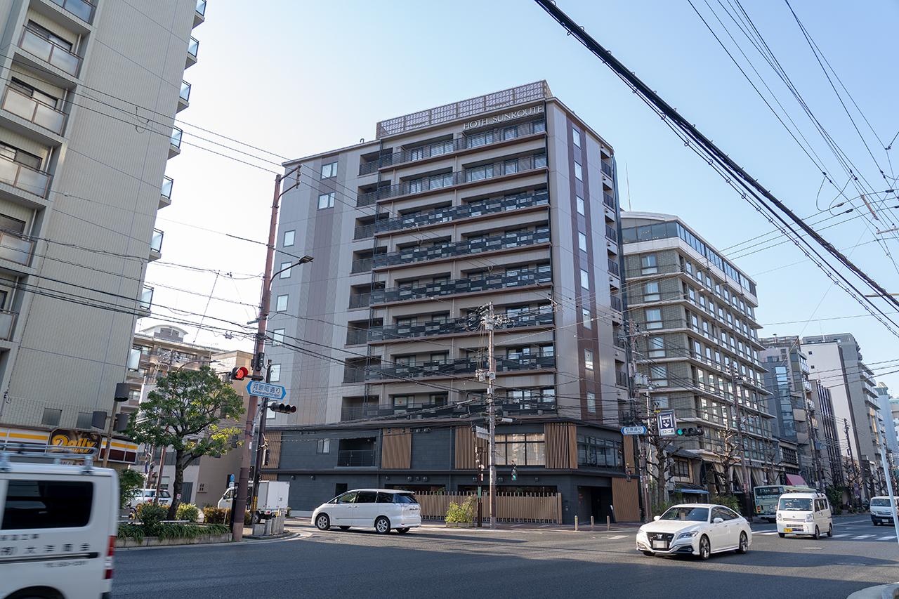 ホテルサンルート京都木屋町外観
