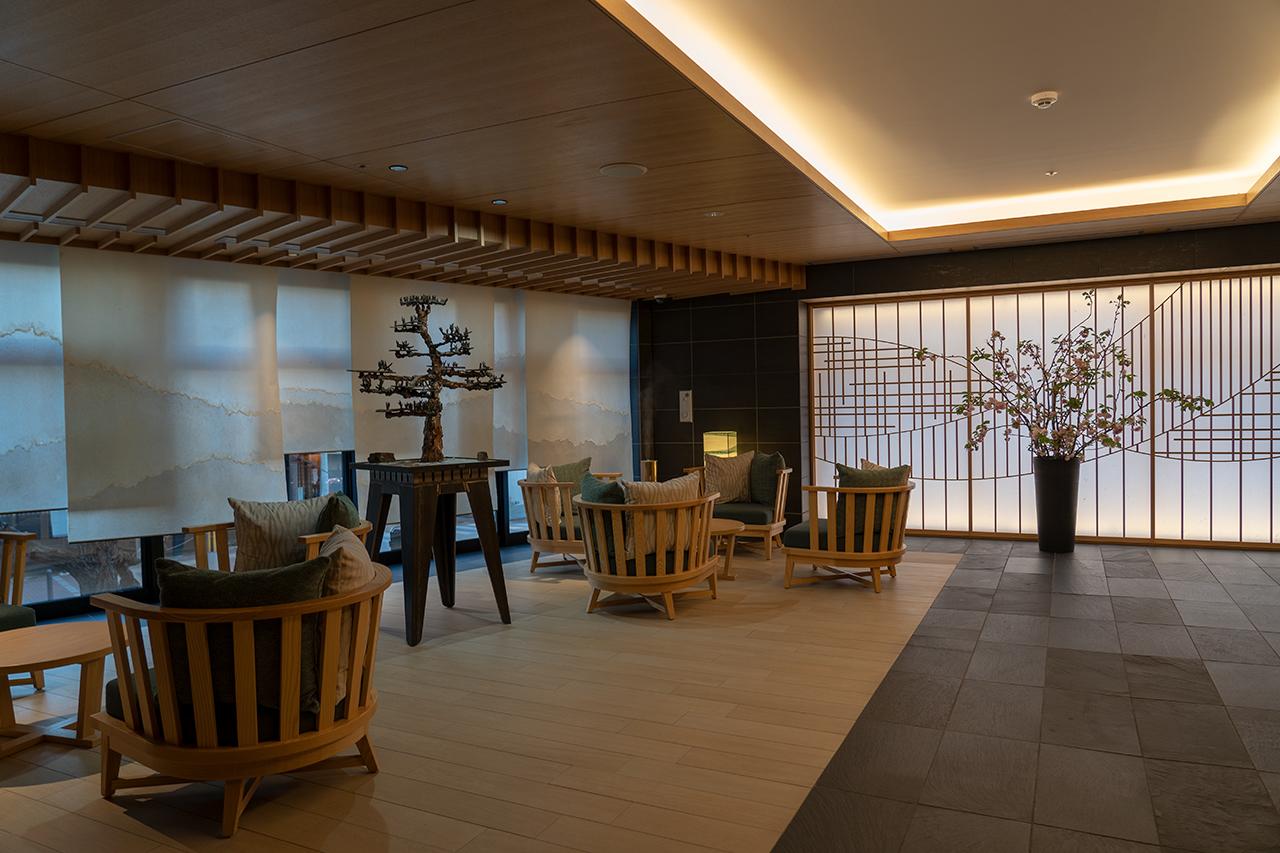 ホテルサンルート京都木屋町ロビー