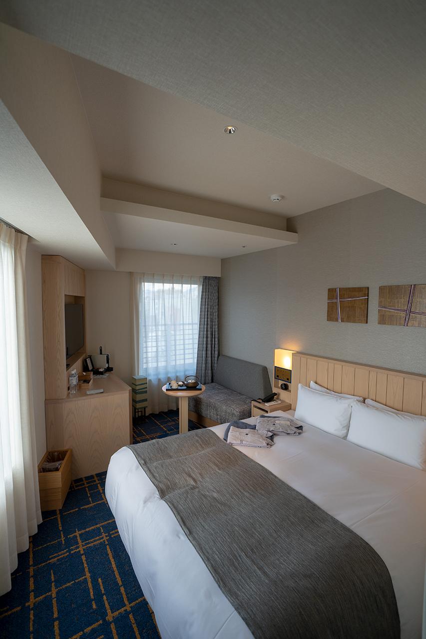 ホテルサンルート京都木屋町のエグゼクティブコーナーダブル
