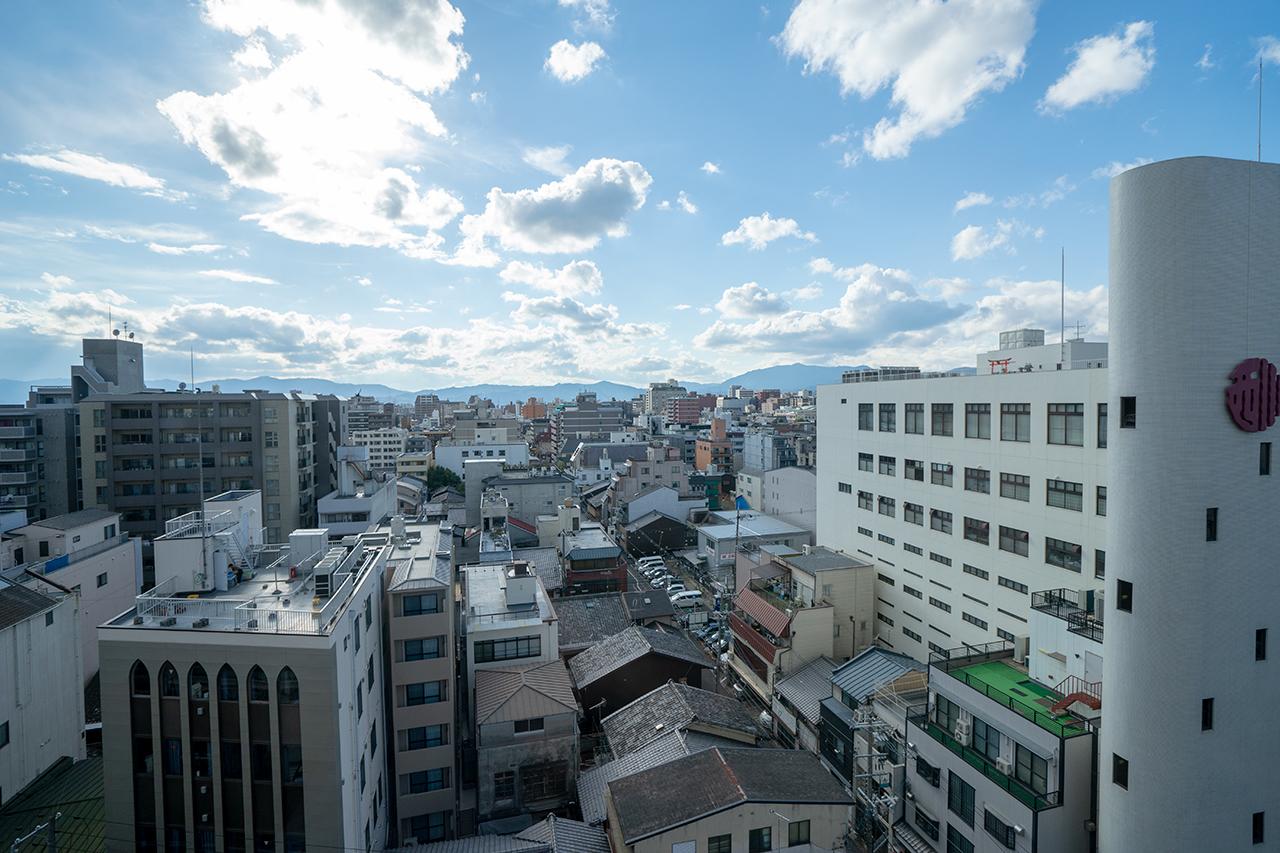 ホテルサンルート京都木屋町1001からの眺め