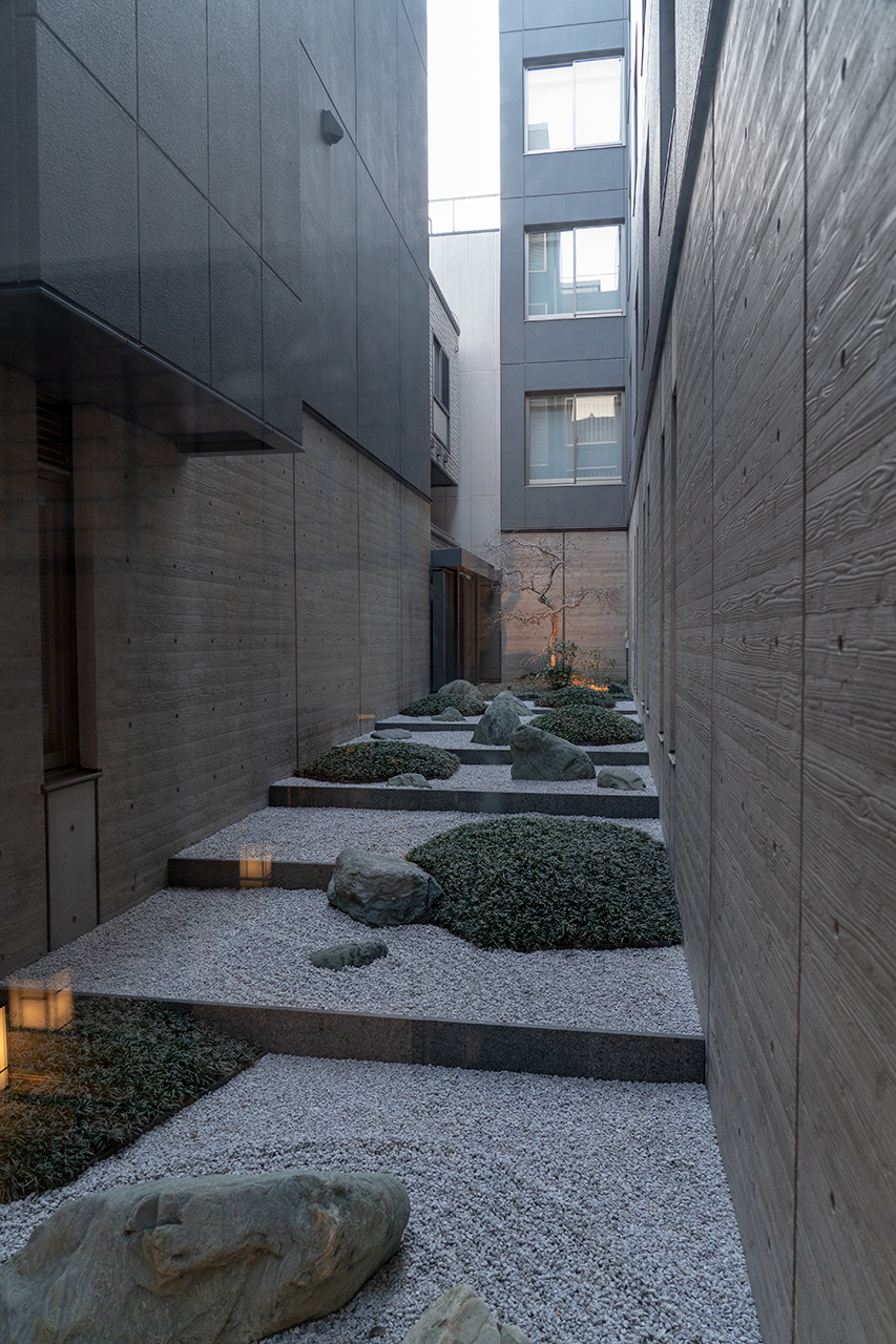 ホテルビスタプレミオ京都 和邸(なごみてい)の坪庭