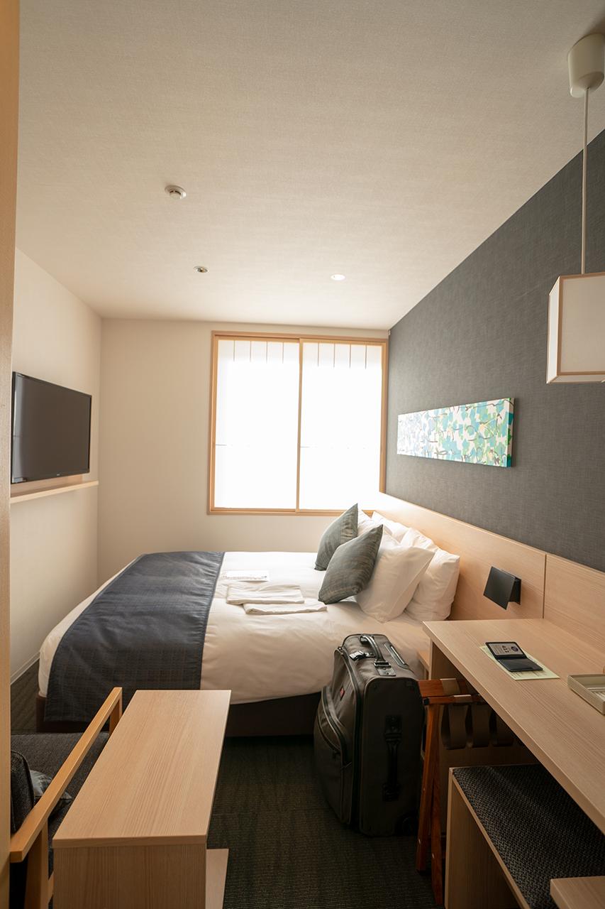 ホテルビスタプレミオ京都 和邸(なごみてい)のスタンダードダブル客室