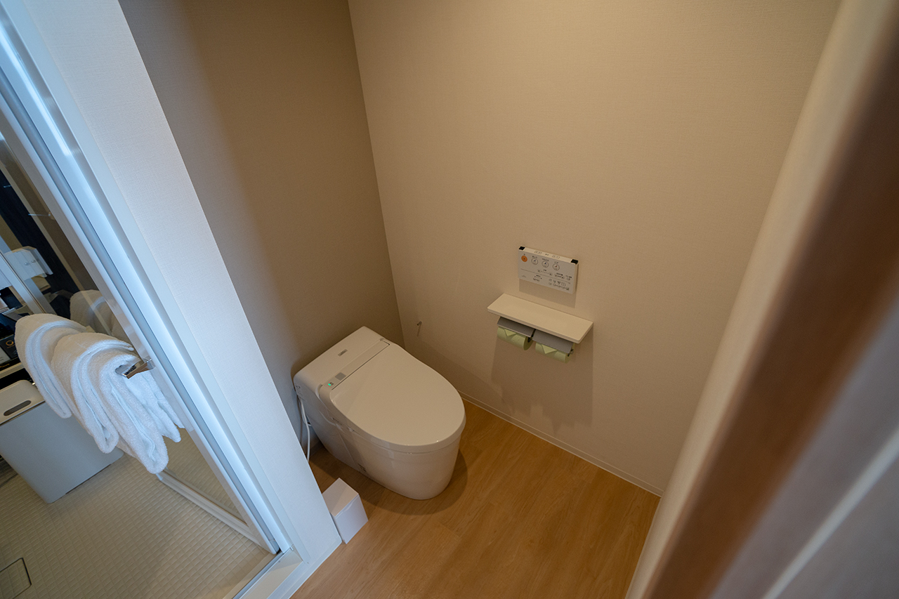 ホテルビスタプレミオ京都 和邸(なごみてい)のトイレ