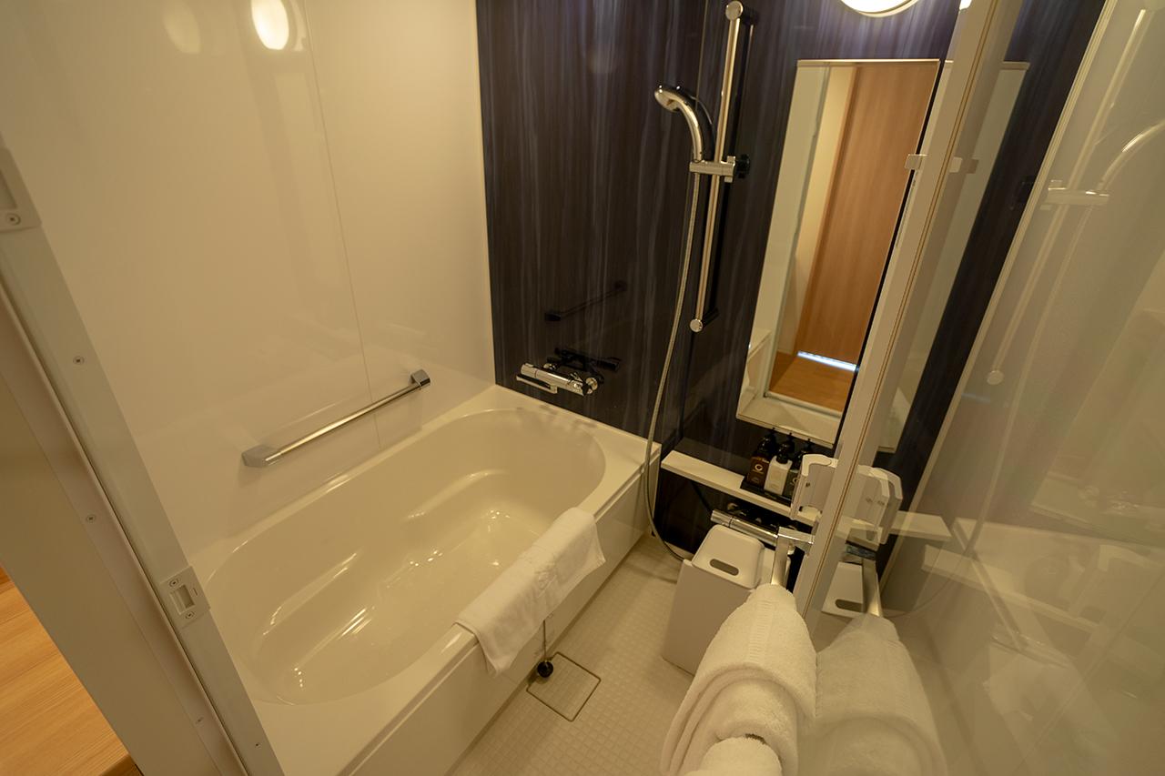 ホテルビスタプレミオ京都 和邸(なごみてい)の浴室