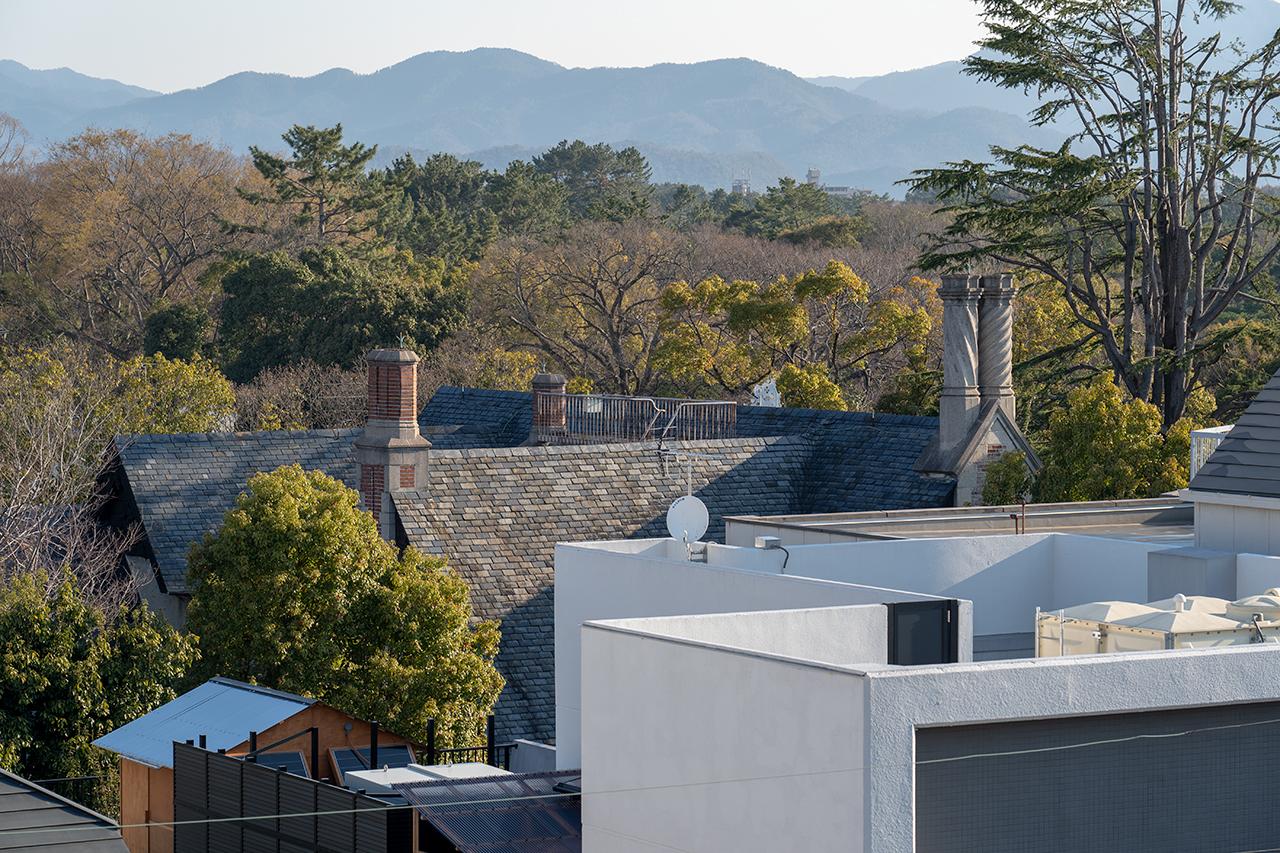 RAKURO 京都屋上から眺めた大丸ヴィラ