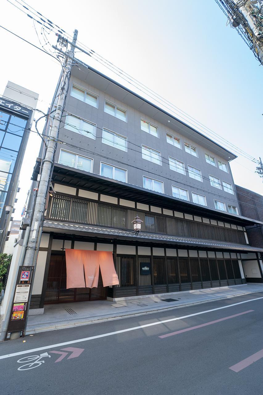 ホテルインターゲート京都四条新町外観