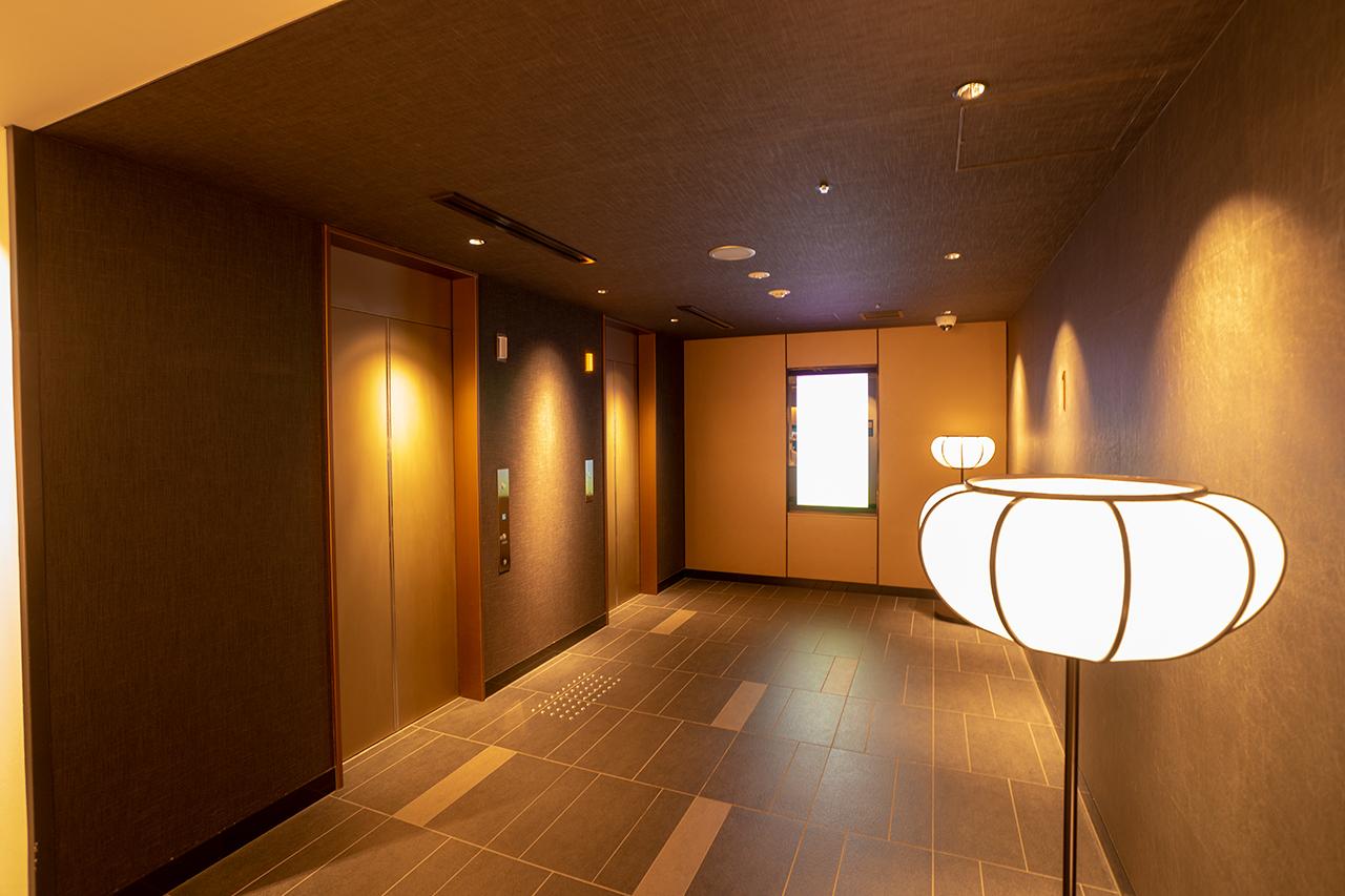 ホテルインターゲート京都四条新町のELVホール