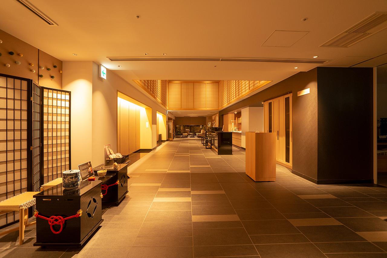 ホテルインターゲート京都四条新町ロビー