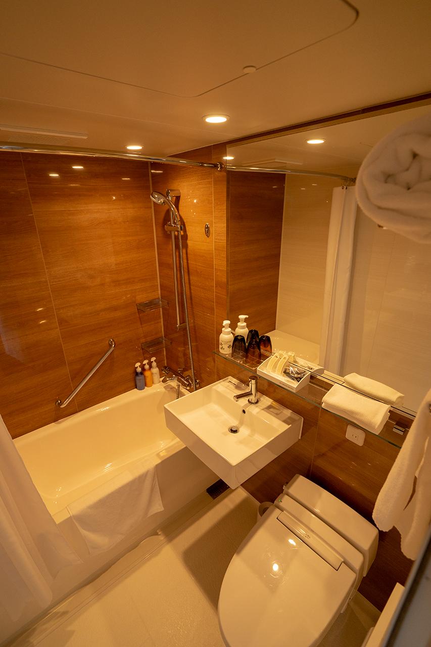 ホテルインターゲート京都四条新町のバスルーム