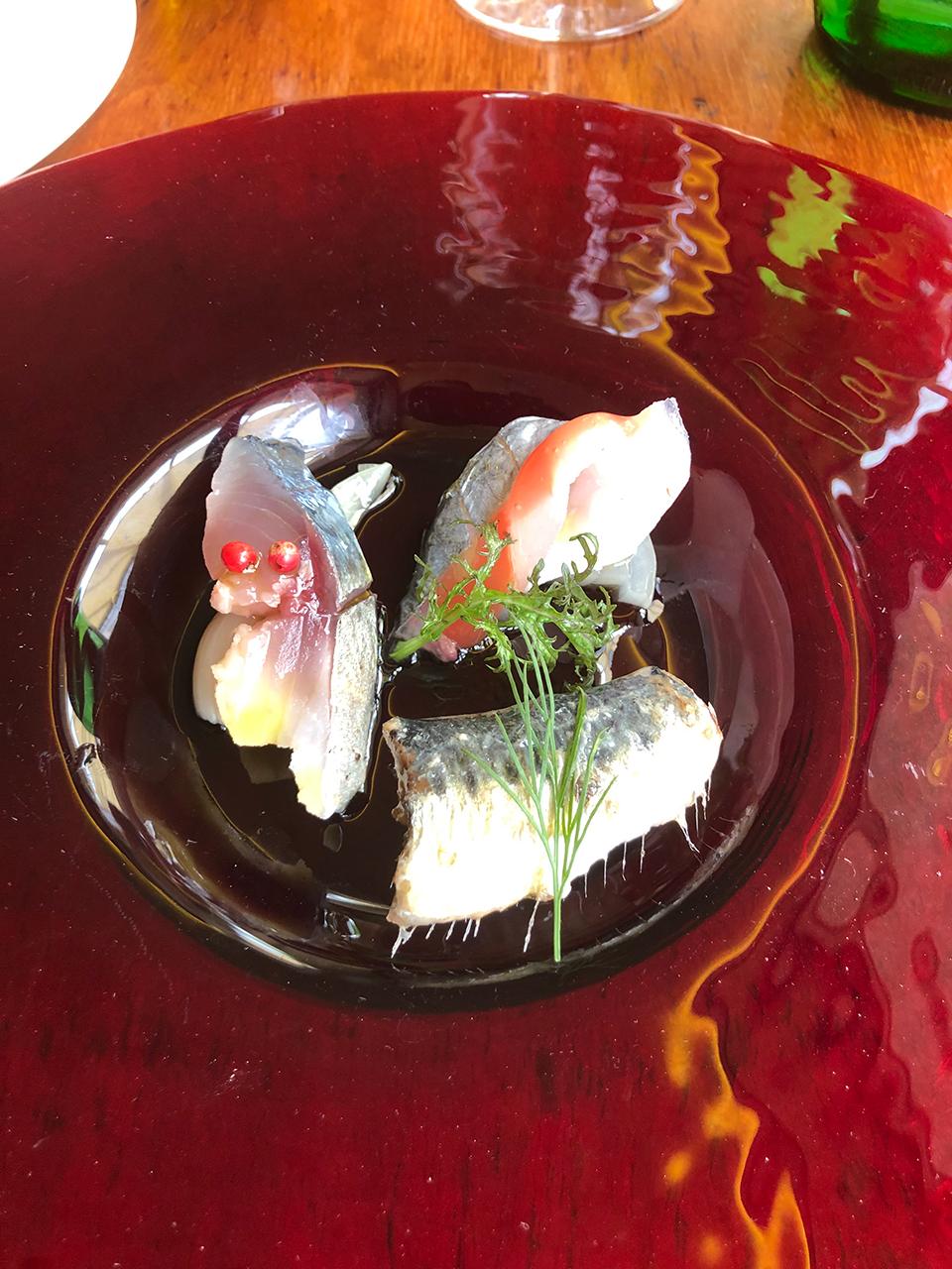 小田原マルツォのランチ前菜