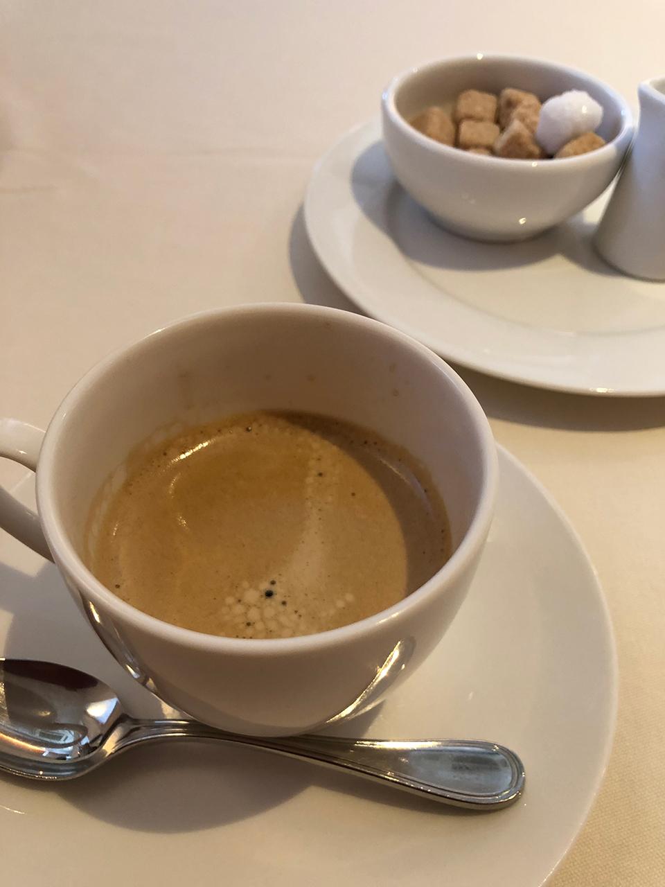 テール・エ・メール(Terre et mer) のコーヒー