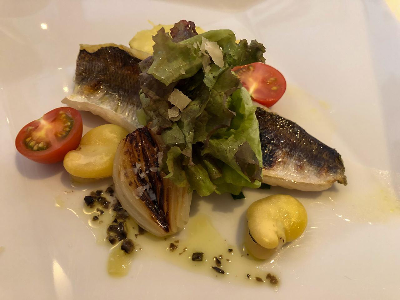 熱海テール・エ・メール(Terre et mer) のカマスと野菜