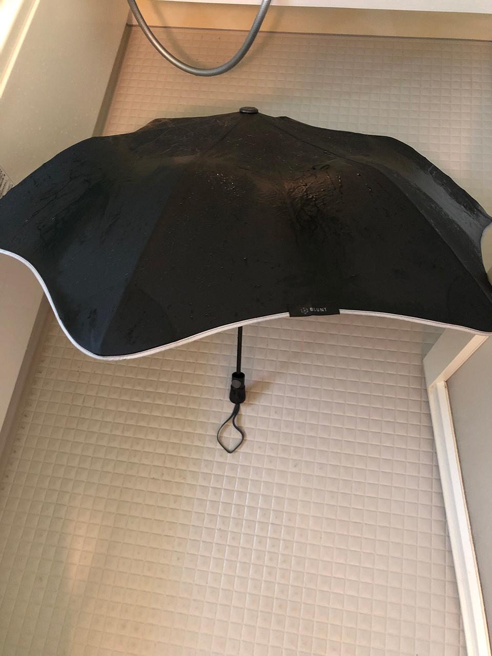 撥水加工をした〈ブラント〉の傘