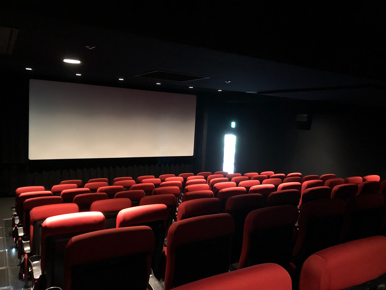 〈KINO cinema みなとみらい〉のシアター2座席の様子