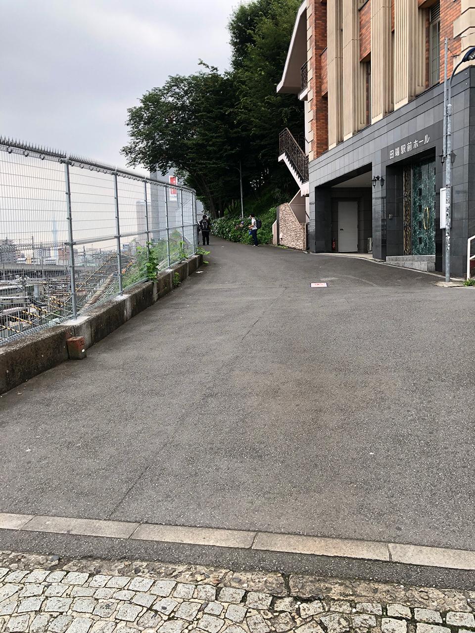 JR田端駅南口から続く路地