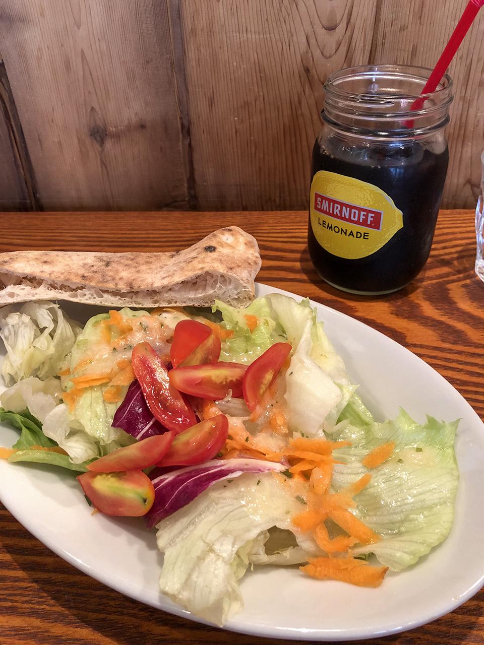 ラッコ アメーノのランチサラダ