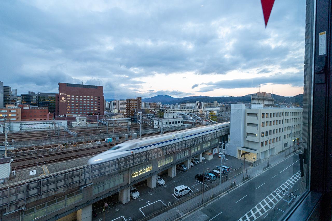 ダイワロイネットホテル京都テラス八条東口702号室からの眺望