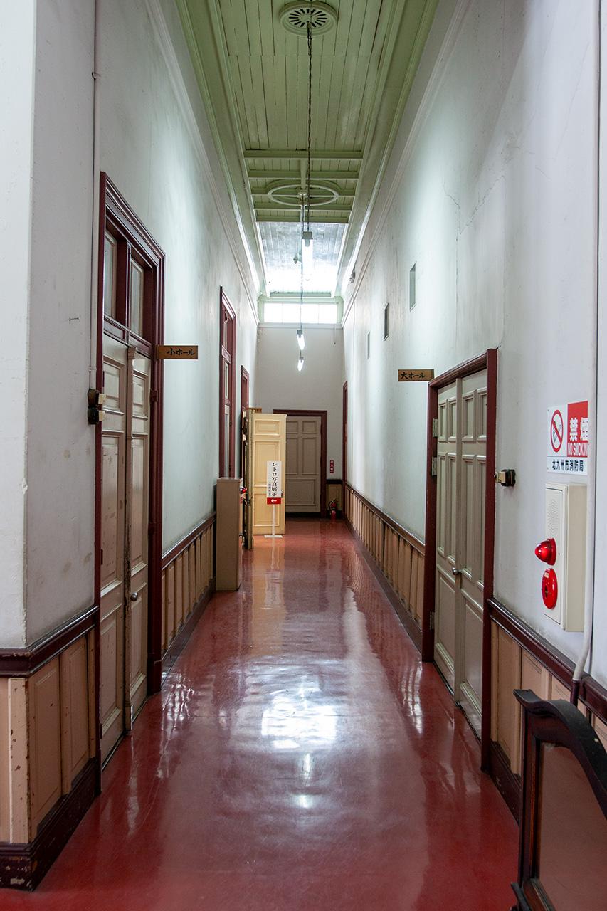 門司港駅舎2階通路